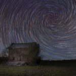 Abandoned Spiral Star Trails