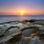 La Jolla Starfish Sunset by Mike Ver Sprill