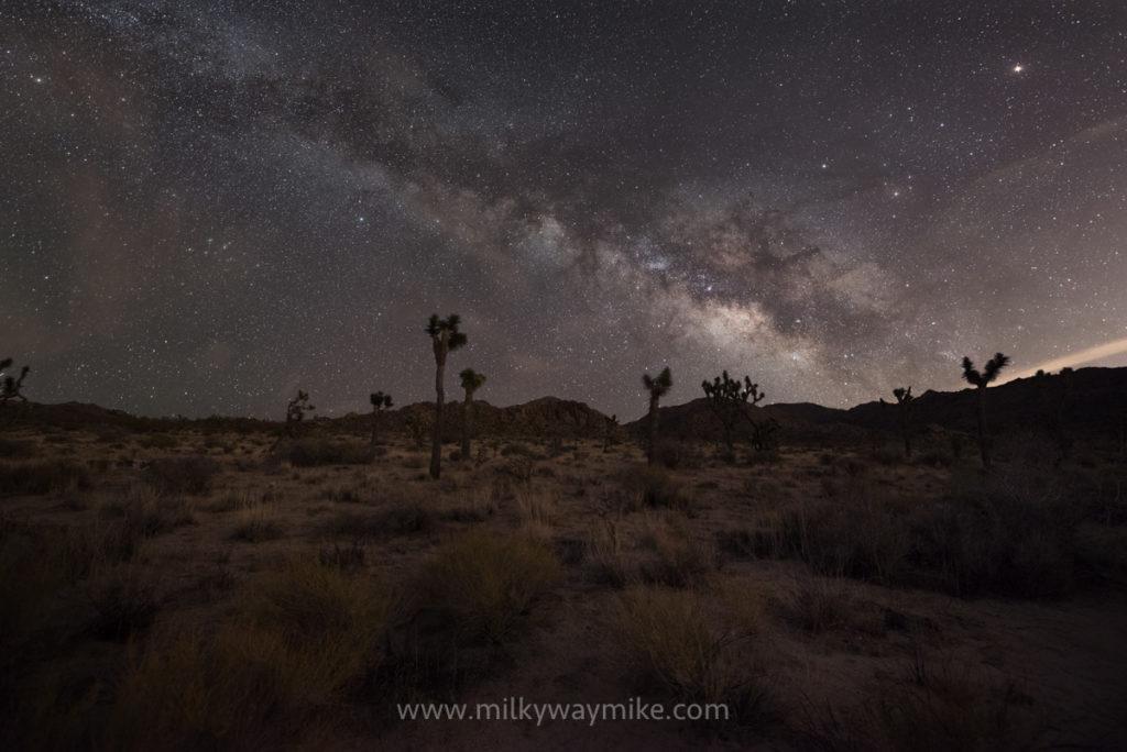 Wall Street Mill Night Hike Milky Way