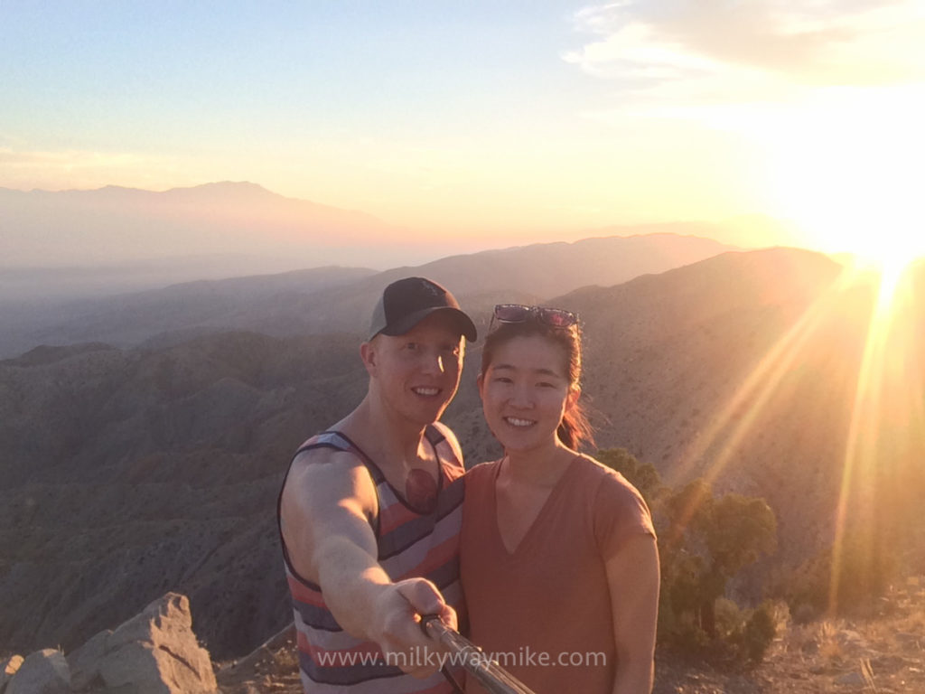 Mike and Janelle At Keys View, Joshua Tree NP