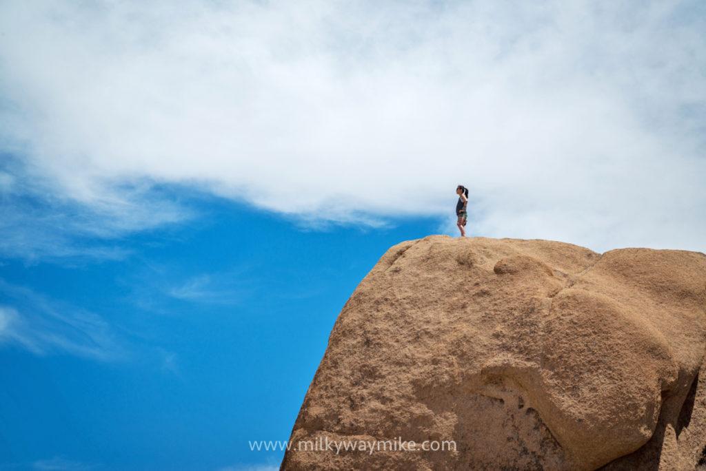 Janelle Secret Hiking Path near Split Rock